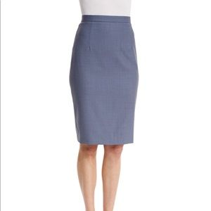 Theory Hemdall B Continuous Pencil Skirt, 6